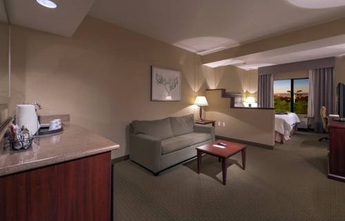 Hampton Inn Phoenix Airport North suite