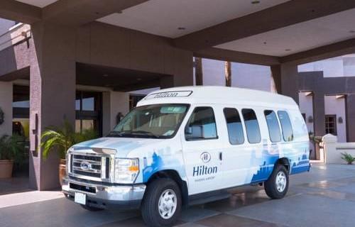 Hilton Phoenix Airport shuttle