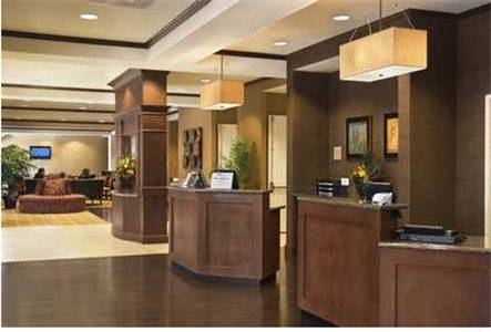 Phoenix Hilton Garden Inn Phoenix Airport lobby 2