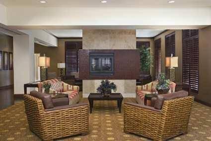Phoenix Hilton Garden Inn Phoenix Airport lobby